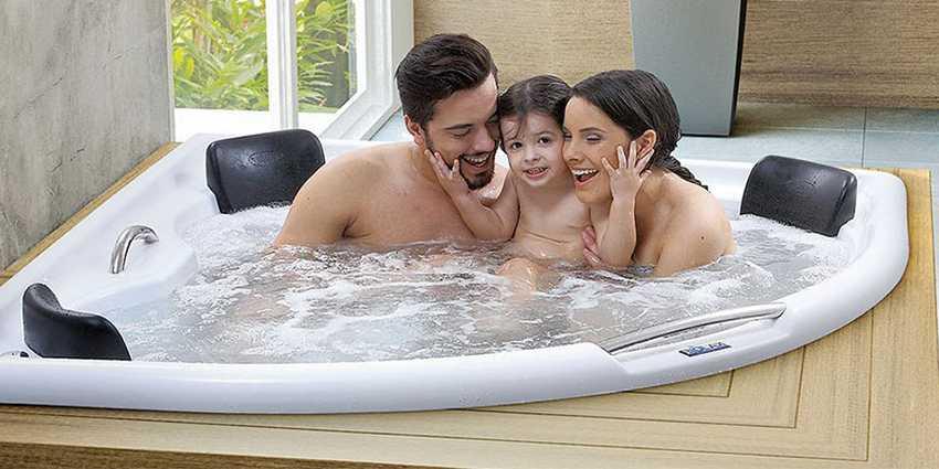 Banheiras são investimentos para a saúde física mental