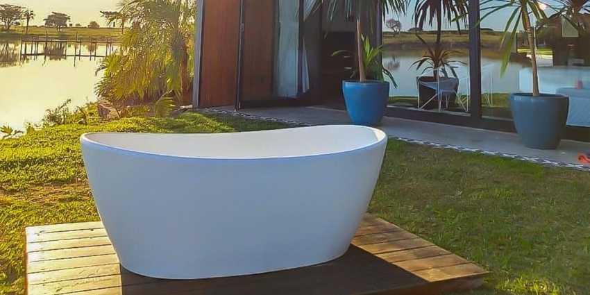 Série: Conheça as Banheiras Contemporâneas Riolax ( Diana )