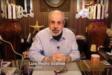 Arquitetos Luis Pedro Scalise e Daiana...